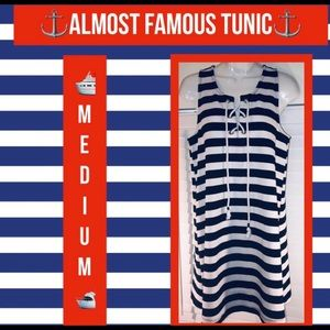 Almost Famous Nautical Tunic⚓️